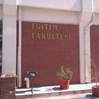 Photo taken at Eğitim Fakültesi by İzel Ö. on 12/24/2012