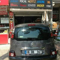 Photo taken at Aydın Elektronik Car Hi Fi by Hüseyin H. on 7/10/2015