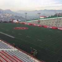 Photo taken at Estadio JOM UVM by Mary P. on 1/30/2016