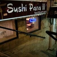 Photo taken at Sushi Para II by Darek L. on 12/15/2012