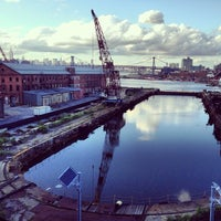 Photo taken at Brooklyn Navy Yard by Neil T. on 6/8/2013