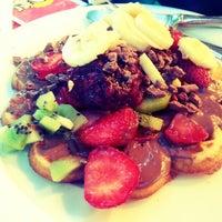 7/5/2013 tarihinde Didem G.ziyaretçi tarafından Kemal Usta Waffles'de çekilen fotoğraf