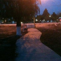 Photo taken at Parque Hundido by Ricardo on 11/30/2012