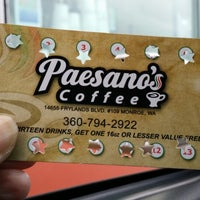 Photo taken at Paesano's Coffee by Beth N. on 2/10/2015