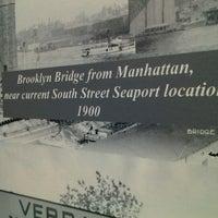 Photo taken at Brooklyn Water Bagel Co by sandra M. on 10/29/2012