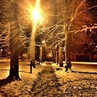 Photo taken at Victoria Park by Dj P. on 1/24/2013