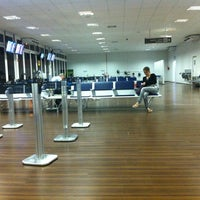 Photo taken at Goiânia Airport (GYN) by Dr. Renato Affonso w. on 1/3/2013