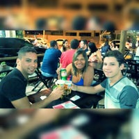 Photo taken at Quiosque Chopp Brahma by Leandro V. on 8/9/2015