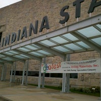 Photo taken at Indiana State Museum by WINDY W. on 10/19/2012