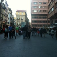 Photo taken at Plaza San Cristóbal by David on 4/18/2014