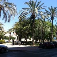 Photo taken at Plaza Doctor Gomez Ulla by David on 6/3/2014