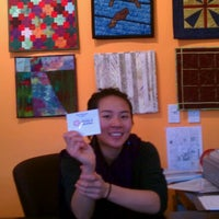 Photo taken at San Jose Museum of Quilts & Textiles by Teri N. on 12/26/2012