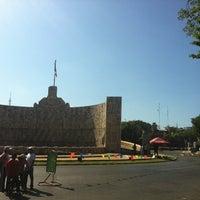 Photo taken at Paseo de Montejo by Chuck on 11/4/2012