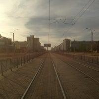 Photo taken at Трамвай №100 by Максим А. on 5/25/2013