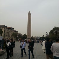 Photo taken at The Obelisk of Theodosius I by Levent O. on 4/6/2013