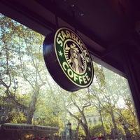 Photo taken at Starbucks Coffee by BlueMint Studio on 11/2/2012