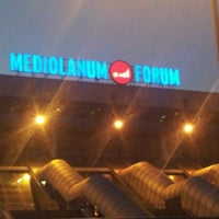 Photo taken at Mediolanum Forum by Mimma M. on 10/9/2012