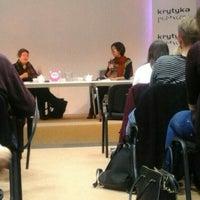 Photo taken at Krytyka Polityczna by Martyna E. on 10/13/2015