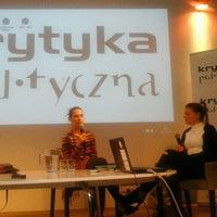Photo taken at Krytyka Polityczna by Martyna E. on 10/12/2015