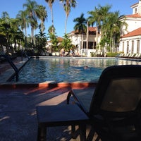 Photo taken at Doral Park Golf & Country Club by Karla D. on 10/6/2013