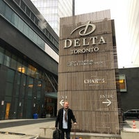 Photo taken at Delta Hotels by Marriott Toronto by Michelle R. on 2/4/2018