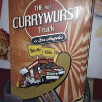 Photo taken at Currywurst truck by Michelle R. on 3/13/2014