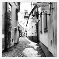 Photo taken at Kramarska ulicka by Jan P. on 2/16/2013