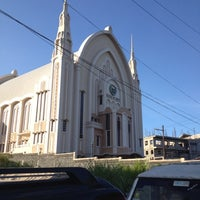 Photo taken at Iglesia Ni Cristo (Locale Congregation of Batasan Hills) by Alan d. on 2/16/2013