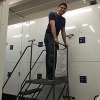 Photo taken at Manhattan Mini  Storage - South St by Diana M. on 4/17/2014