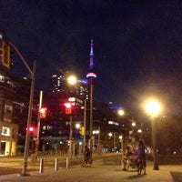 Photo taken at Queens Quay / Lakeshore Trail by Sooa on 9/7/2016