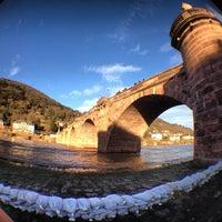 Photo taken at Alte Brücke by Jason H. on 12/29/2012