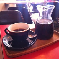 Photo taken at Gorilla Coffee by Beau L. on 2/1/2013