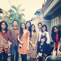 Photo taken at SMAN 46 Jakarta by Fina M. on 9/1/2013