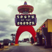 Photo taken at South of the Border by Troy on 1/30/2013