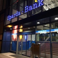 Photo taken at Sparda-Bank Augsburg by Katrin G. on 1/24/2018