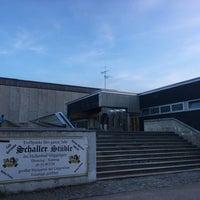 Photo taken at Hallenbad Göggingen by Katrin G. on 4/24/2017