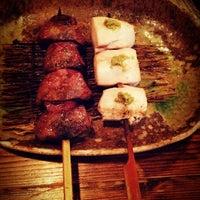 Photo taken at 炭火焼鳥 彩鳥 by panaco on 12/23/2012