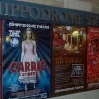 Photo taken at Hippodrome Theatre by Ricardo B. on 10/21/2012