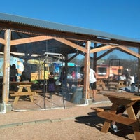 Photo taken at Clearfork Food Park by Francisco F. on 1/20/2013