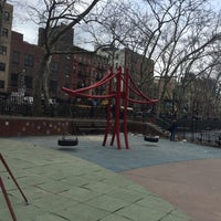 Photo taken at Hester Street Playground by Eliza on 3/17/2016