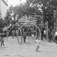 Photo taken at Hester Street Playground by Eliza on 6/8/2017