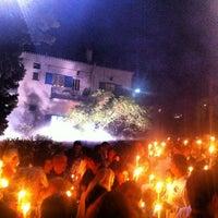 Photo taken at Μονη Αναστασεως by N K. on 5/4/2013
