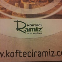 Photo taken at Köfteci Ramiz by Ömer K. on 1/27/2013