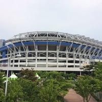 Photo taken at Daejeon Worldcup Stadium by Tomoya on 5/23/2017