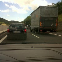 Photo taken at Autostrada A1 by Gino F. on 5/24/2013