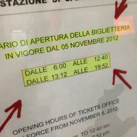 Photo taken at Stazione FS San Bonifacio by Nicola M. on 1/11/2013