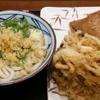 8/21/2016になつのおとう△が丸亀製麺 流山店で撮った写真