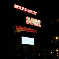 Photo taken at Diversey River Bowl by Gregory C. on 5/1/2013