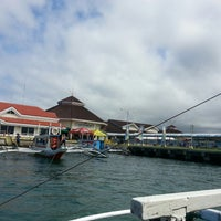 Photo taken at Caticlan Jetty Port & Passenger Terminal by Irish C. on 3/2/2013
