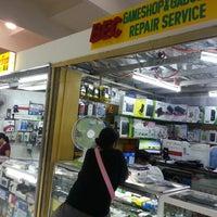Photo taken at bec gameshop & gadget repair service by Irish C. on 3/10/2013